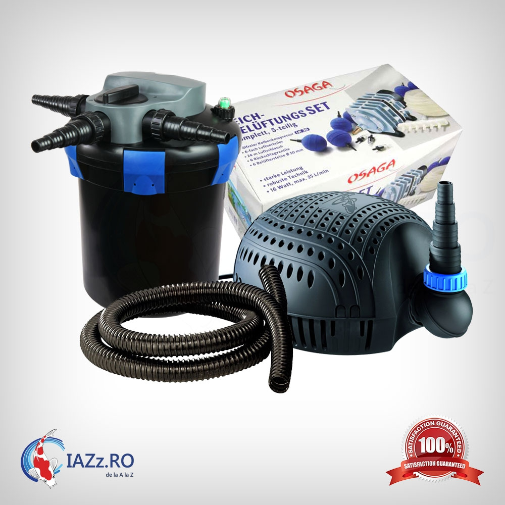 Set filtrare iaz 6000 litri model 2