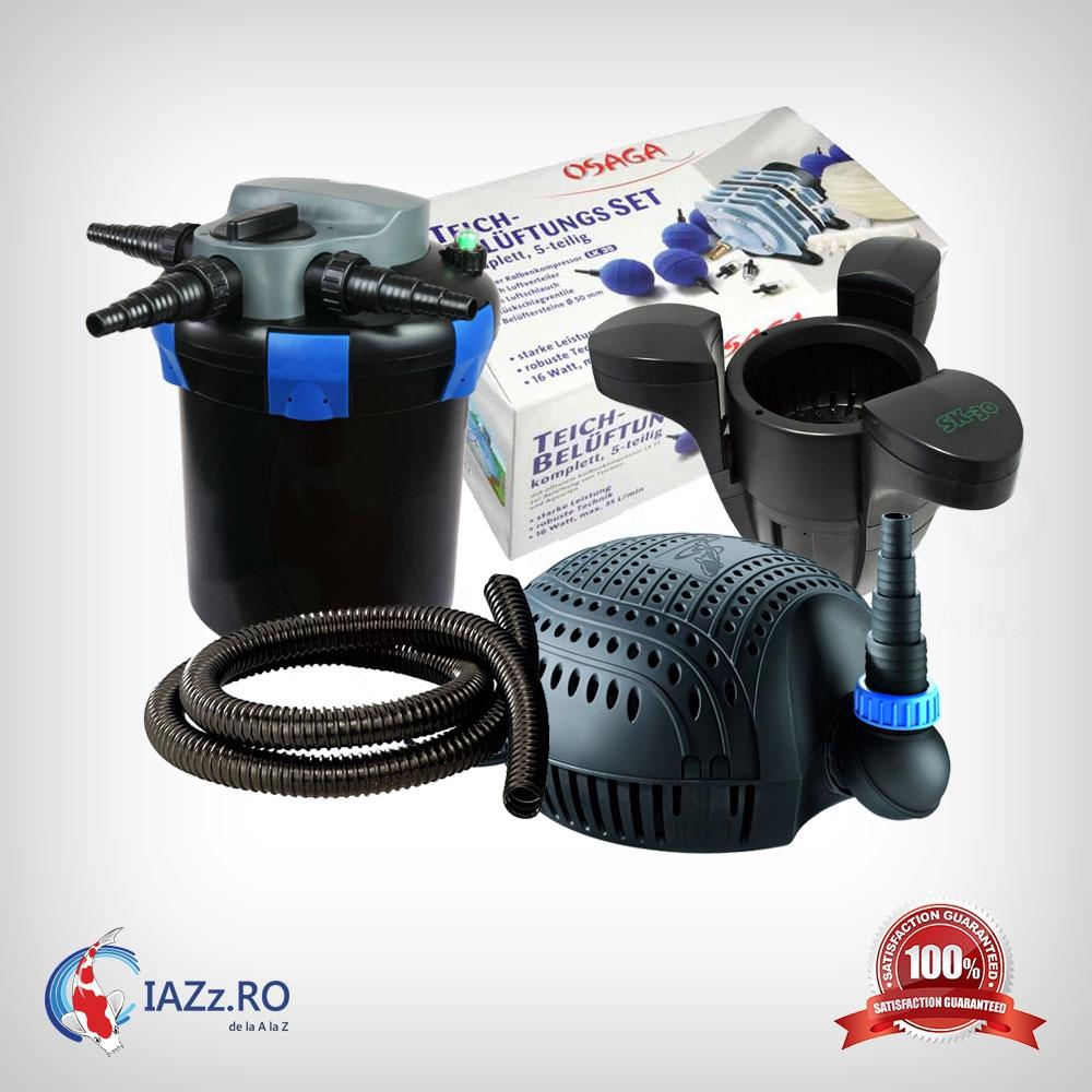 Set filtrare iaz 6000 litri model 4