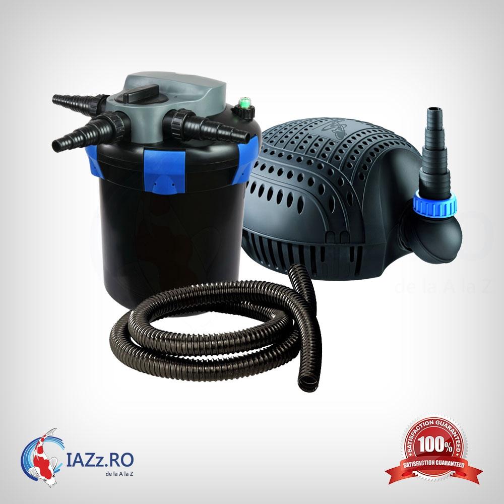 Set filtrare iaz 6000 litri model 1