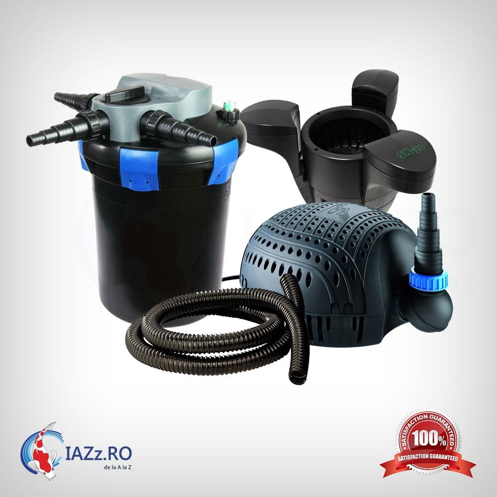 Set filtrare iaz 9000 litri model 3