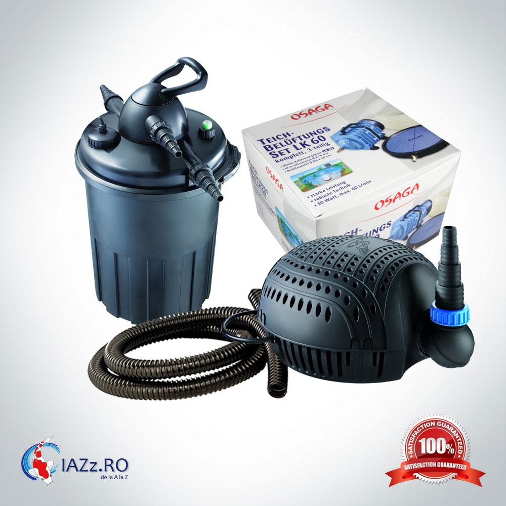 Set filtrare iaz 15000 litri model 2