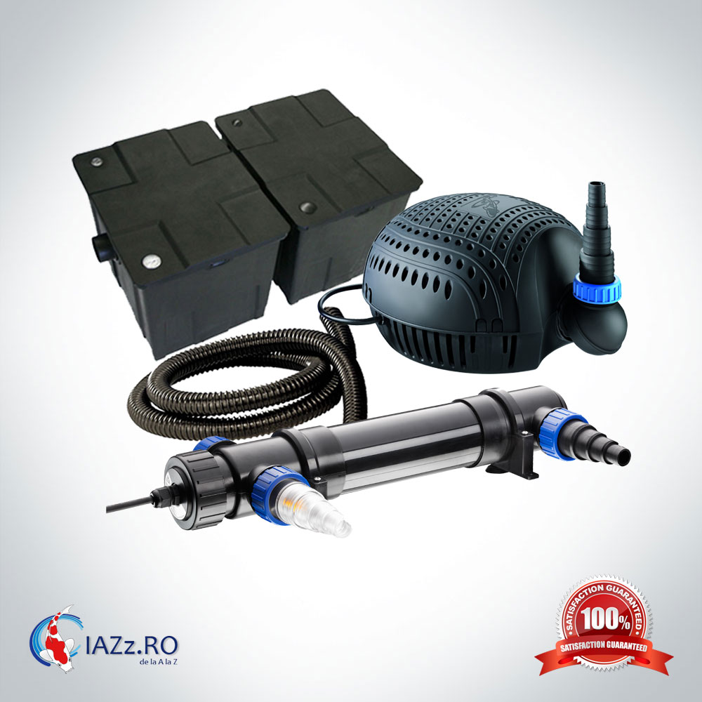 Set filtrare iaz 60000 litri model 1