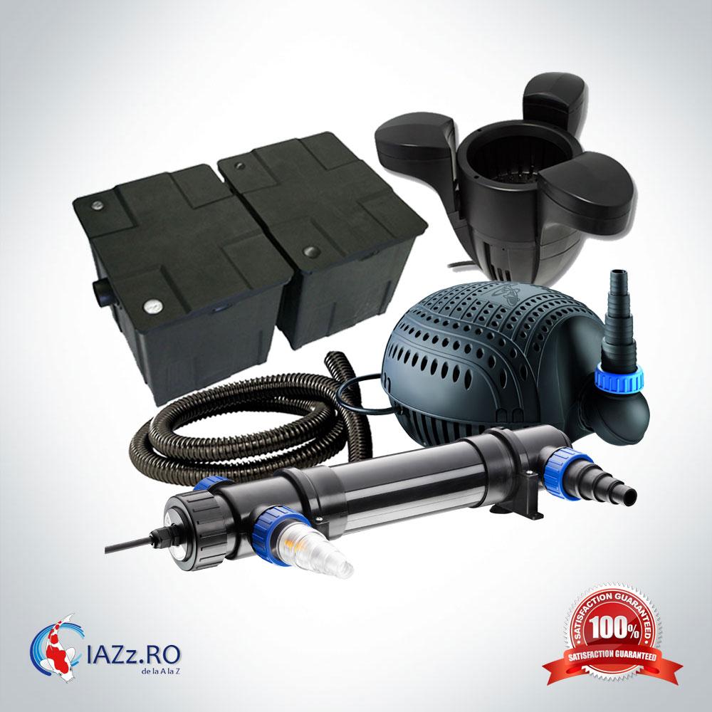 Set filtrare iaz 60000 litri model 5