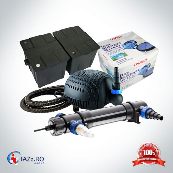 Set filtrare iaz 60000 litri model 3