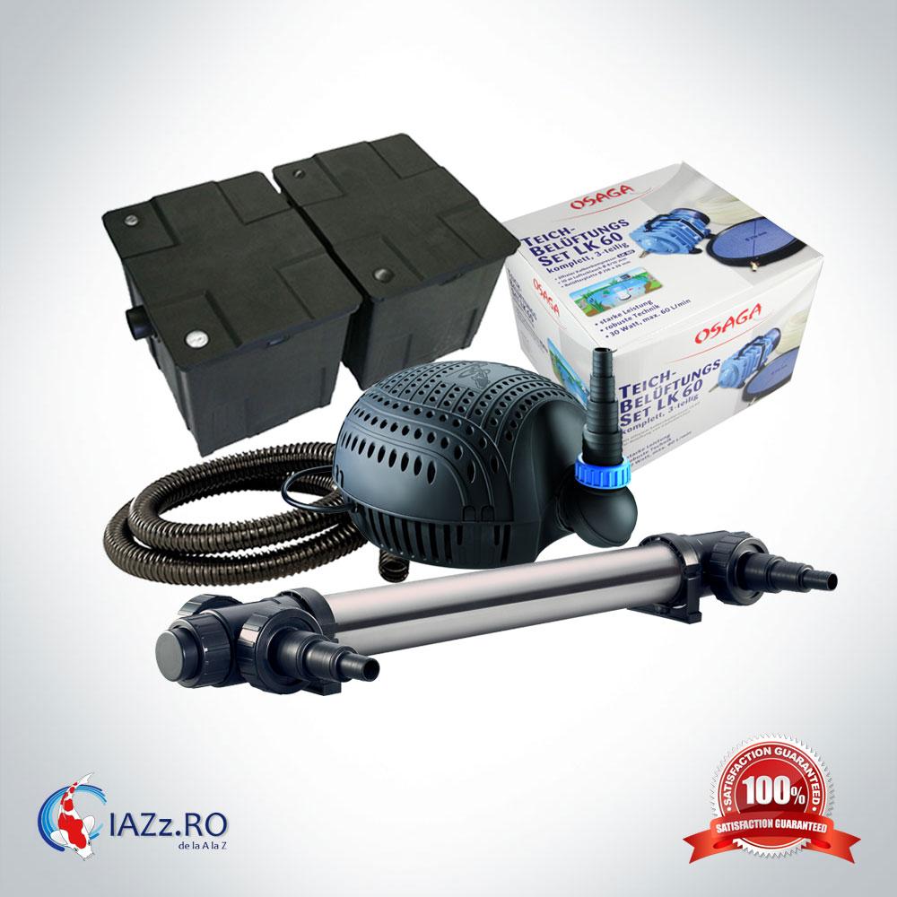 Set filtrare iaz 60000 litri model 4