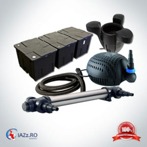 Set filtrare iaz 90000 litri model 3