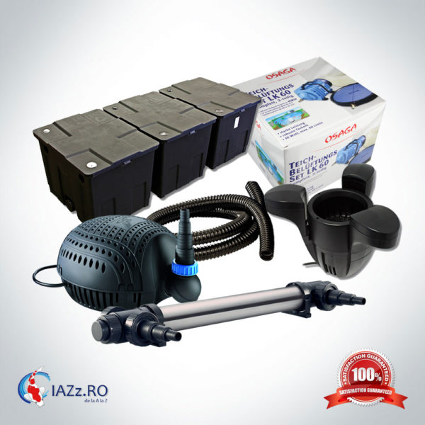 Set filtrare iaz 90000 litri model 4