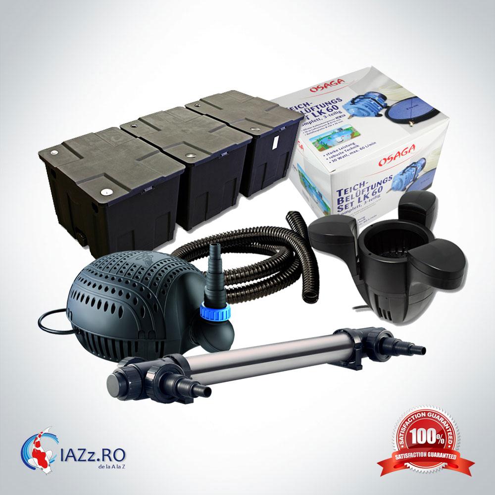 Set filtrare iaz 90000 litri model 4